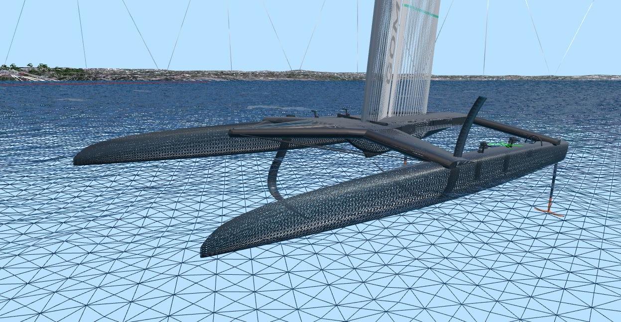 Hydrodynamics based on hull geometry